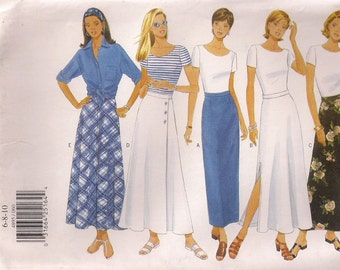 Butterick Sewing Pattern 4895 - Misses' Skirt (6-10, 12-16)