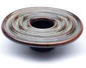 Handmade Porcelain Kenzan Flower Vase - Garden