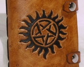 Leather Pentagram Journal/Sketchbook