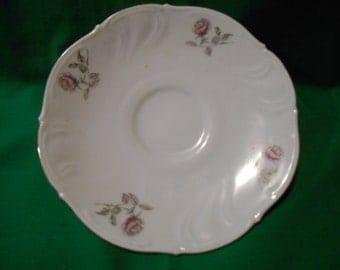 "One (1), 5 3/4"" Porcelain Tea Cup Saucer, from Winterling in the No. 34 Pattern."