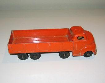 Rare Vintage Structo Metal Toy Truck, Orange