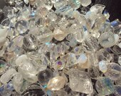 50% OFF SALE Beautiful Bride Glass, Pearl Plastic Bead Sampler Mix 50 Piece Set 4-30mm