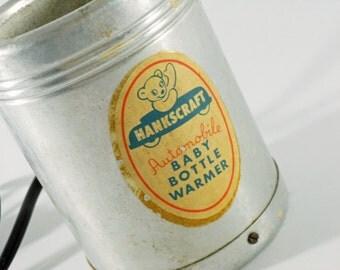 Vintage Hankscraft Automobile Baby Bottle Warmer
