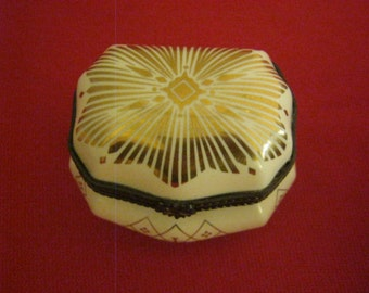 Vintage Estee Lauder Private Collection Heirloom Treasures Trinket Box or Casket