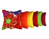 Colorful Catnip Pillows (set of 6)