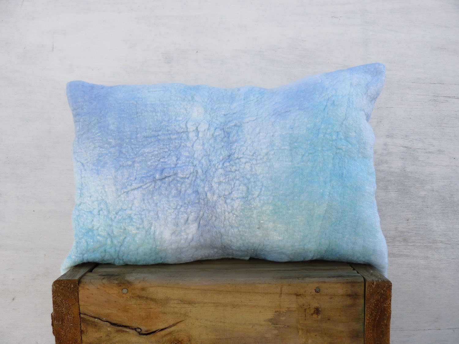 Throw Pillow Covers Nautical : Nautical Pillow cover ocean blue throw pillow by TexturableDecor