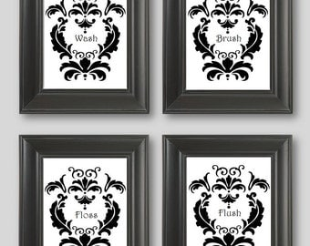 Popular items for black white curtain on Etsy