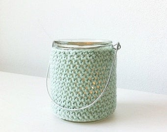 Crocheted lantern small