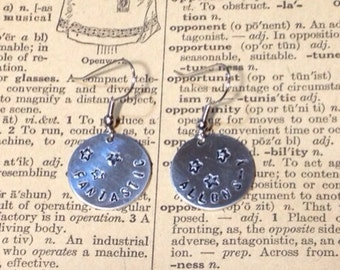 Fantastic Allons-y Doctor Who Inspired Earrings