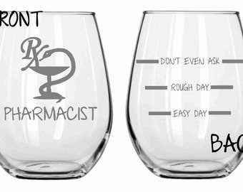 Funny pharmacist   Etsy