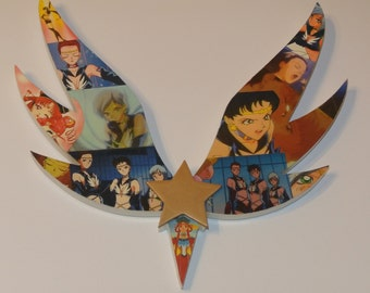 Sailor Stars Wall Plaque (made to order)
