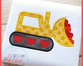 Custom Digger with Hearts Personalize for free