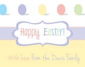 """Printable Easter Card - 4x6"""" or 5x7"""" - Greeting