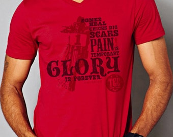 Glory Is Forever - Men's Short Sleeve Vintage Soft Tee