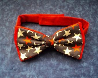 Patriotic Dog Bow Tie  XSmall