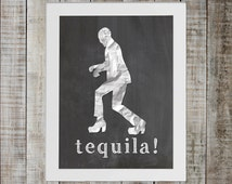 Tequila Song Hits #1 on - By me, Pee-wee Herman