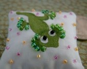 Lizard Mini Dollhouse Pillow