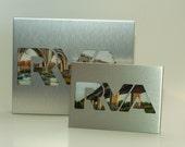 RVA Silver Photo Frame,  Richmond Va Landscape Picture Frame, Framed Photography