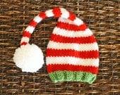 Christmas Knit Elf Hat