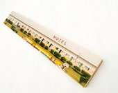 "Midcentury Motel Photo Transfer Art, 6""x36"" on Wood Panel by Patrick Lajoie Fine Art Photography"