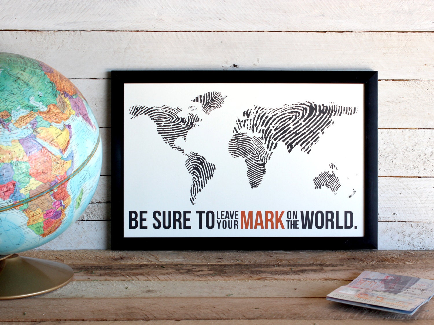 Map your travels – Mark Your Travels Map