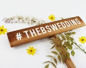 Wedding Hashtag Sign, PARTY Hashtag Sign, # sign, Event Sign, Social Media Sign, Wedding Decor Party Sign