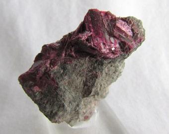 Mineral Specimen - Erythrite - Bou Azer, Tazenakt, Ouarzazate Prov. Morocco - geology - nearearthexploration