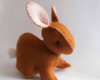 Easter Rabbit Plushie Pdf - Waldorf toy