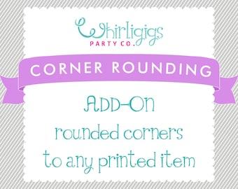 CORNER ROUNDING Add-On