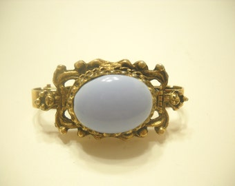 Vintage Victorian Style Hinged Scarf Clamp (4422)