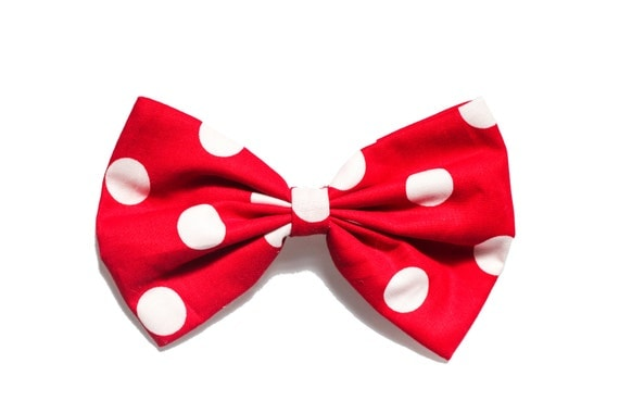 Mini Mouse (Red and White Polka Dot) Bow