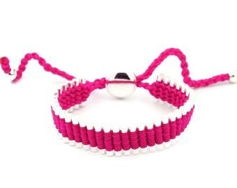 Link Friendship Bracelet - Pink Color - (One Direction)