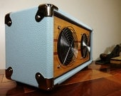 "Bluetooth Speaker Retro/Vintage Style Wood ""V-30"" Reclaimed Cherry Hi-Fi, iPad, iPod, iPhone, Android."