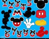 The Most Famous Mouse Clipart Set