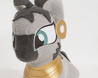 Chibi Zecora MLP Hand-Made Custom Craft Plush