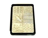 SALE - Kindle 4 Kindle 5 Case pewter patchwork