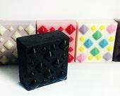 LOVE STINKS - Chocolate Scent-1 bar, over 5 oz. Heavy Metal Valentine Soap