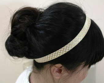 Everyday/Girl/Women fold over elastic headband