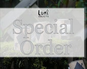 Special order // for Alisa