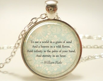 Custom Quote Necklace, Personalized Jewelry For Poem, Song Lyrics, Or Text, Personalized Memorial Jewelry (1728S1IN)