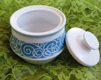 Vintage Noritake Progression Milburn Lidded Sugar Bowl, Very Good