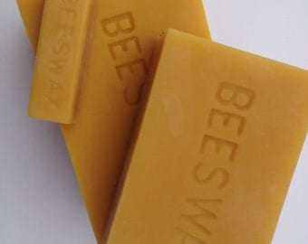 Natural Beeswax Block 2 lb.