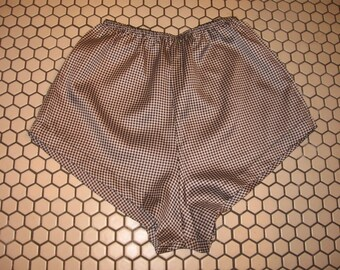 Indulgence brand silky polyester petite boxer style ladies underwear or shorts