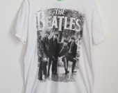Oversized Beatles Band T Shirt Dress Size Large