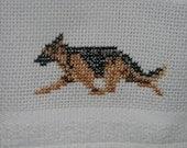 German Shepherd Hand Towel or Kitchen Towel