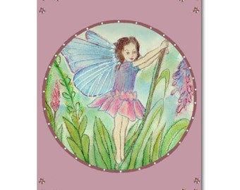 Fairies Nursery Art Print, Kids Baby Decor, Nursery Wall Art, Fairies Kids Wall Art, Fairies room decor, Nursery Prints, Art for Kids room