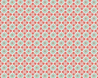 Clover Mint - Maude Asbury -  Blend Fabrics. 1/2 Yard Cut