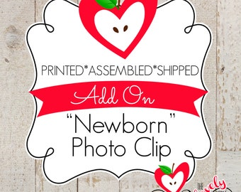 Add On a Newborn Photo Clip - First Year Monthly Photo Banner