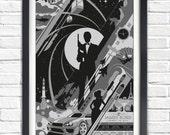 James bond - 007 - 17x11 Poster