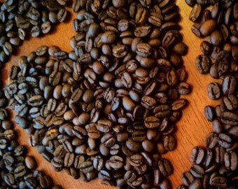 Freshly Roasted Coffee. House Blend. Gourmet Coffee. Coffee Beans. 12oz bag of Coffee.